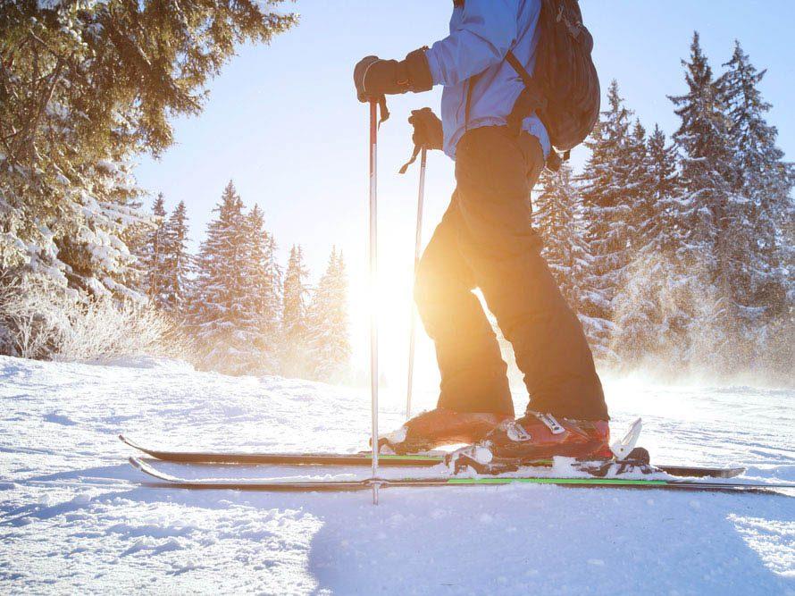 Le ski est bon pour le cœur et le tonus musculaire.