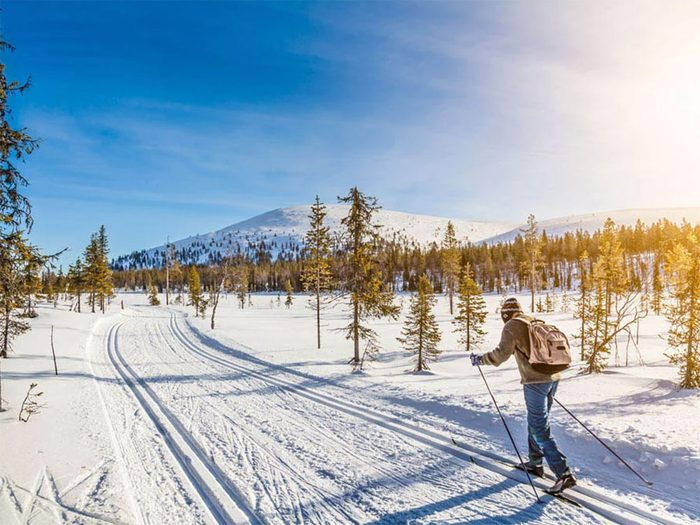 Faire du ski cet hiver vous aidera à renforcer votre système immunitaire.