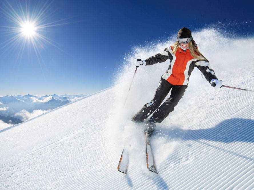 Le ski vous aide à rester jeune.