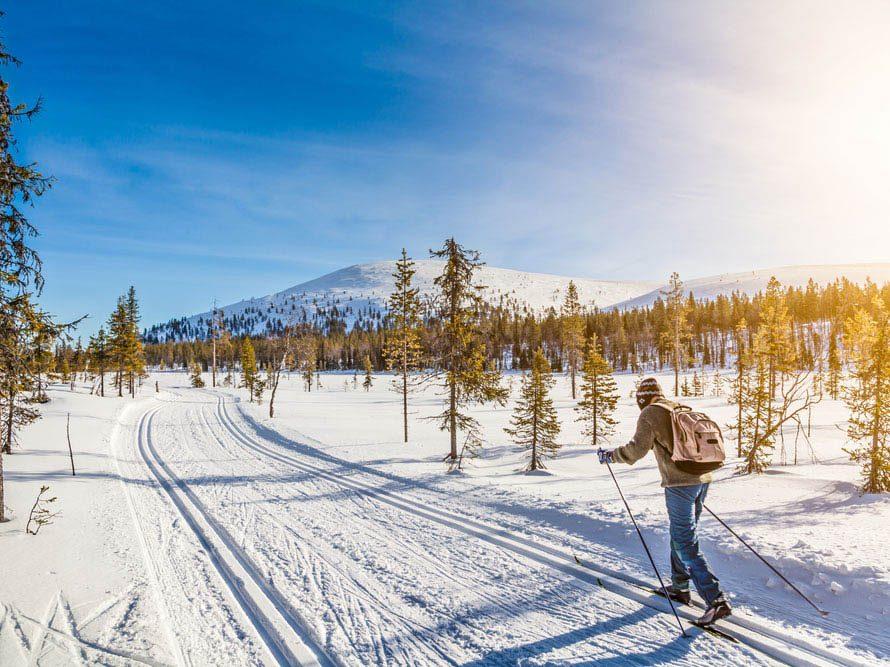 Le ski peut renforcer votre système immunitaire.