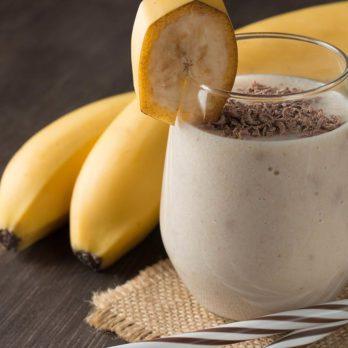 Smoothie banane épicée