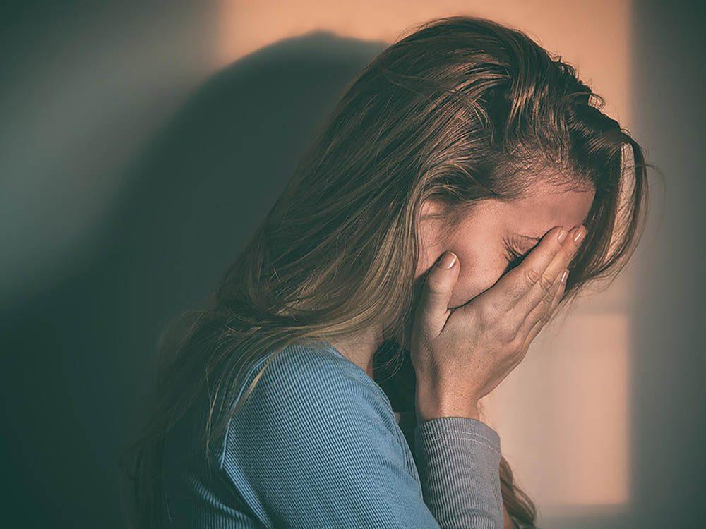 Symptôme du stress : vous êtes une boule d'émotions.