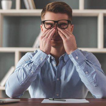 Le stress vous empêche de garder les yeux ouverts.