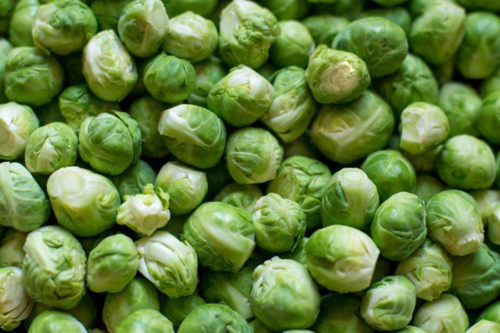 Super-aliments d'automne : le chou de Bruxelles.