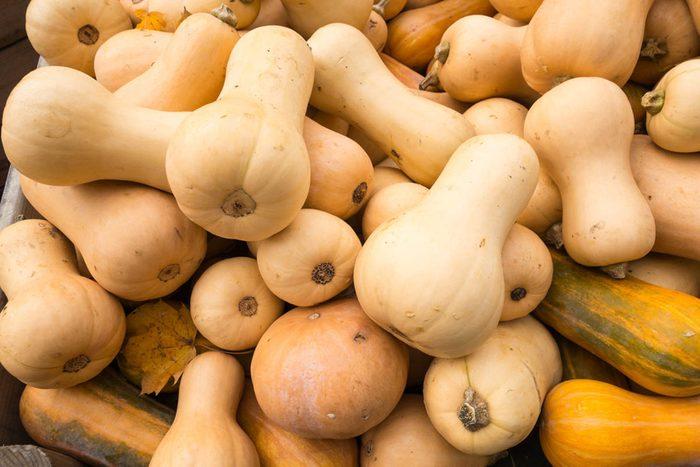 Super-aliments d'automne : la courge musquée.