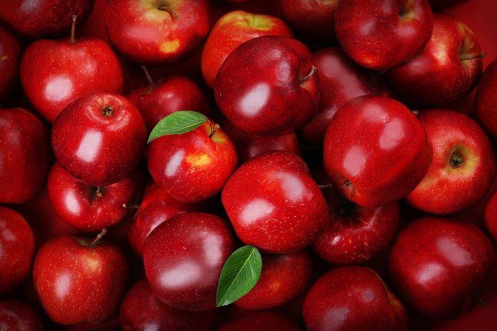 Super-aliments d'automne : les pommes.