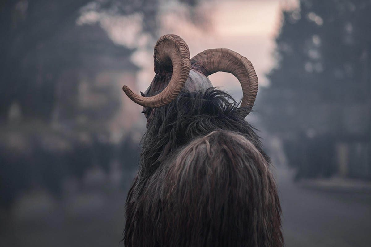 Temps des Fêtes : Krampus est à l'origine du « méchant père Noël ».