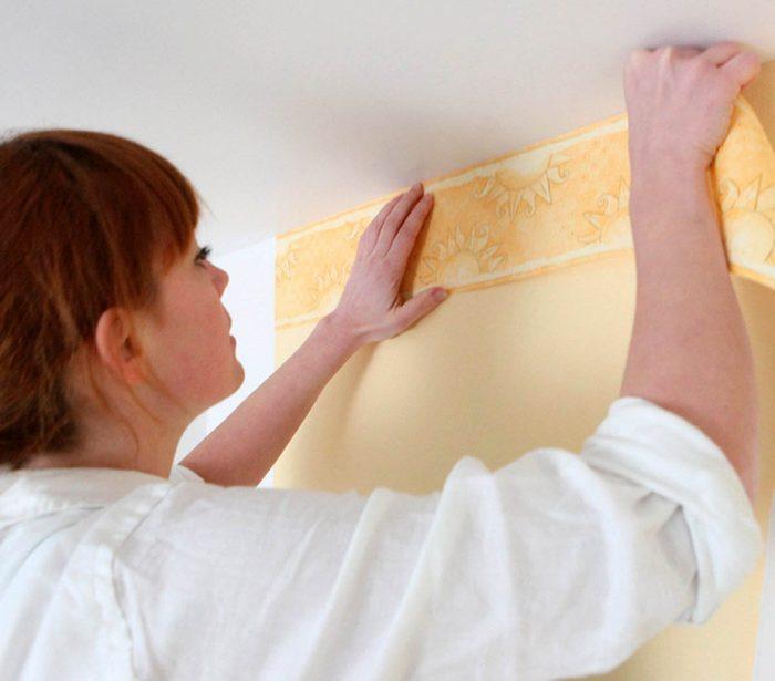 Votre maison vous fait vieillir si vous avez des bordures en papier peint.