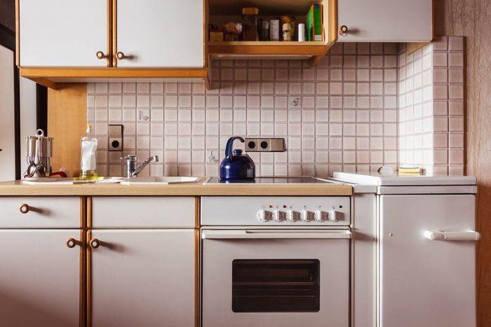 Votre maison vous fait vieillir si vos appareils électroménagers sont blancs ou crème.