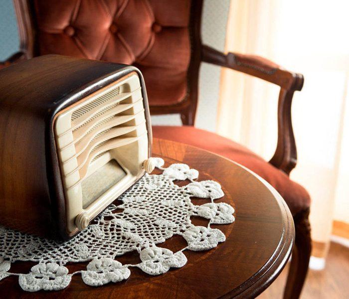 Votre maison vous fait vieillir si vous utilisez des napperons crochetés.