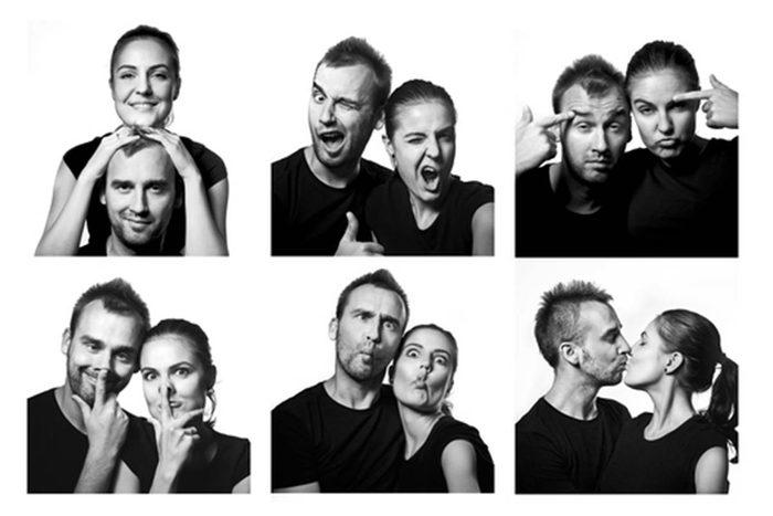 Activités couple : amusez-vous dans un photomaton.