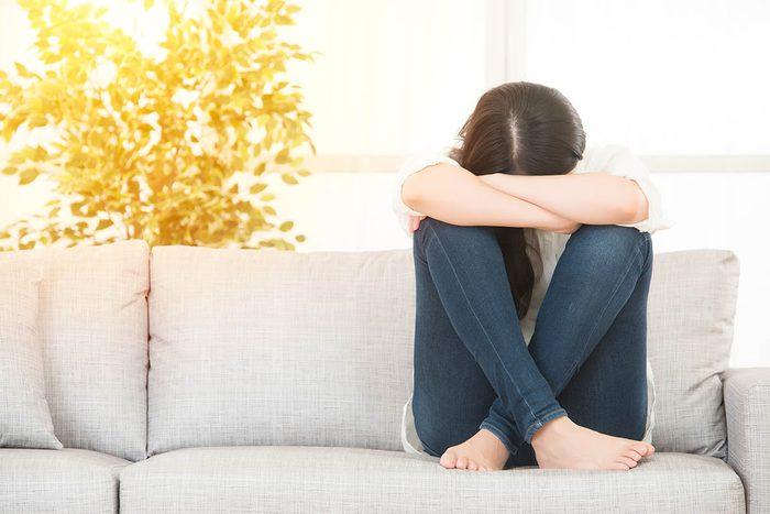 Attitudes négatives à proscrire : la tristesse.