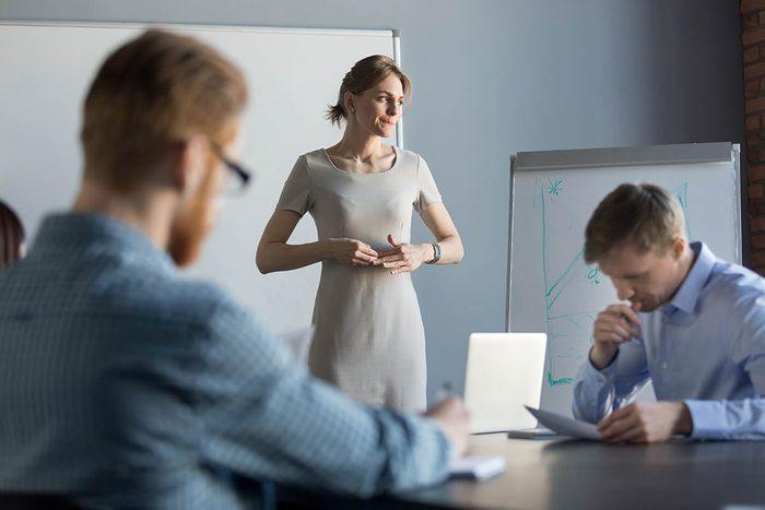 Attitudes négatives à proscrire : le manque de confiance en soi.
