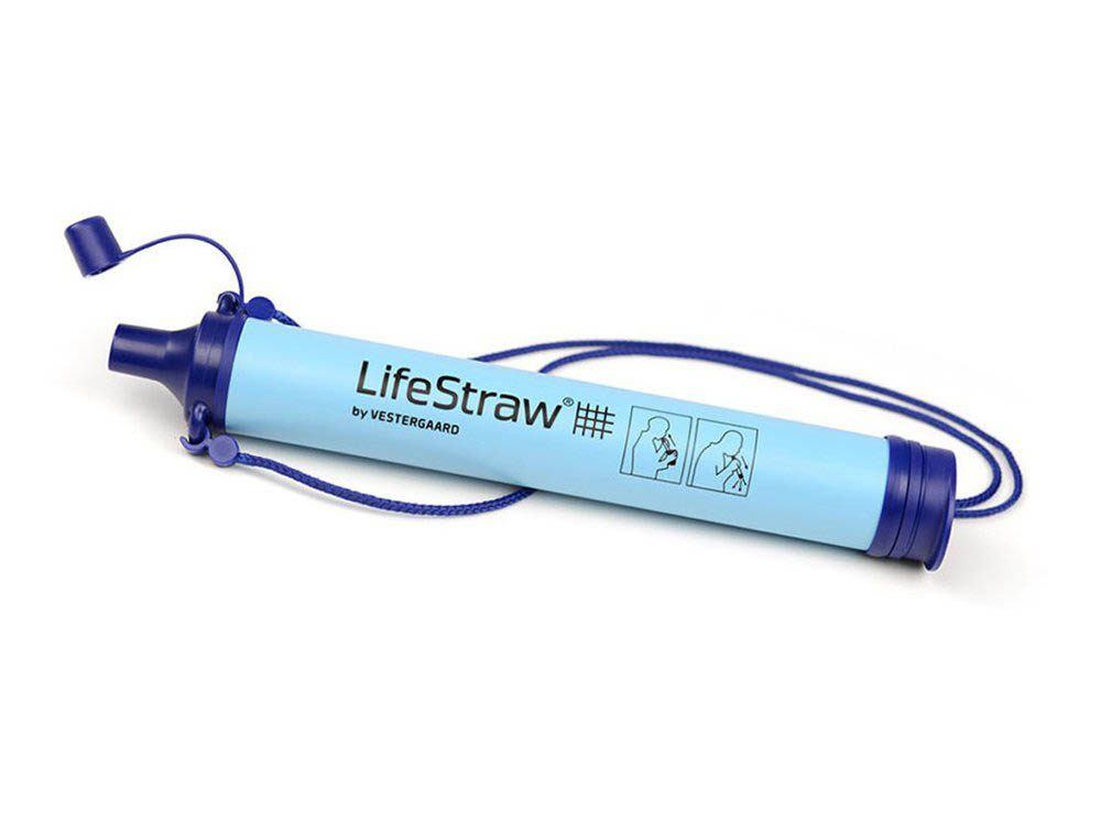 Cadeau de noël : le filtre à eau LifeStraw