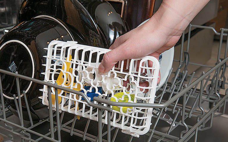 Cadeau de noël : un panier pour lave-vaisselle
