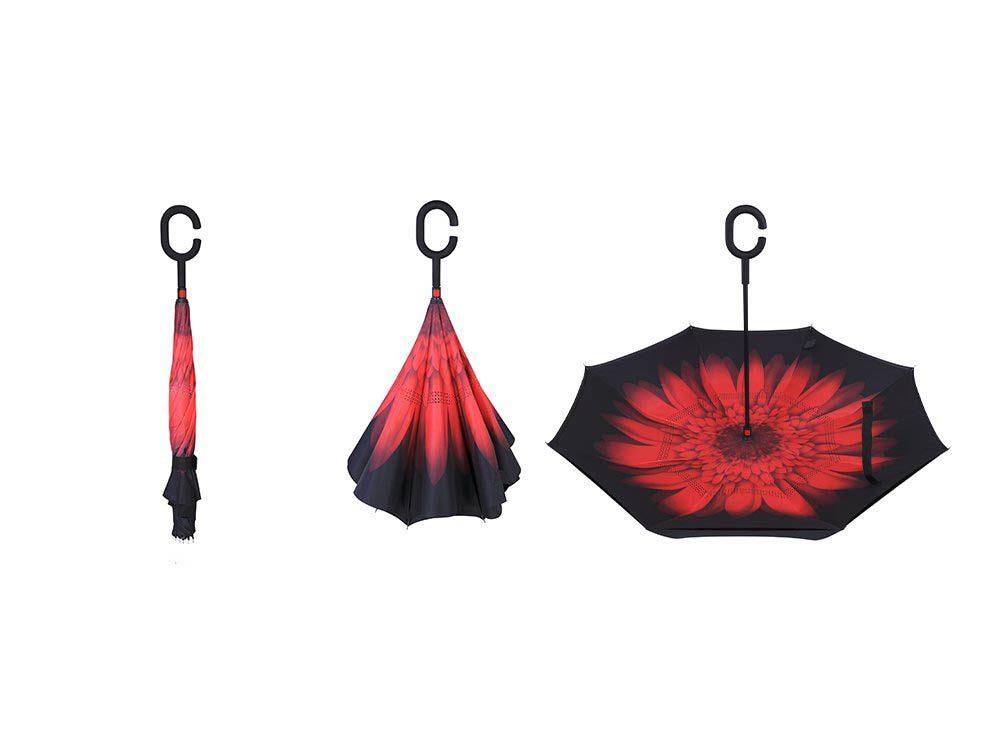 Cadeau de noël : le parapluie réversible Belami Knirps