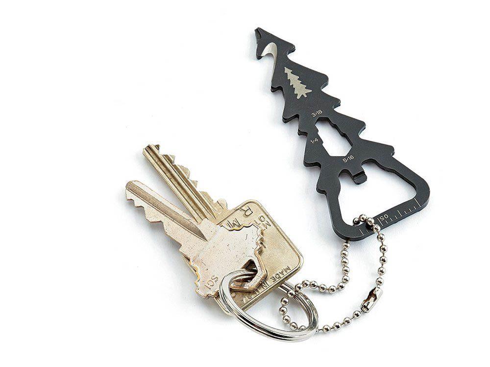 Cadeau de noël : le porte-clés multioutils