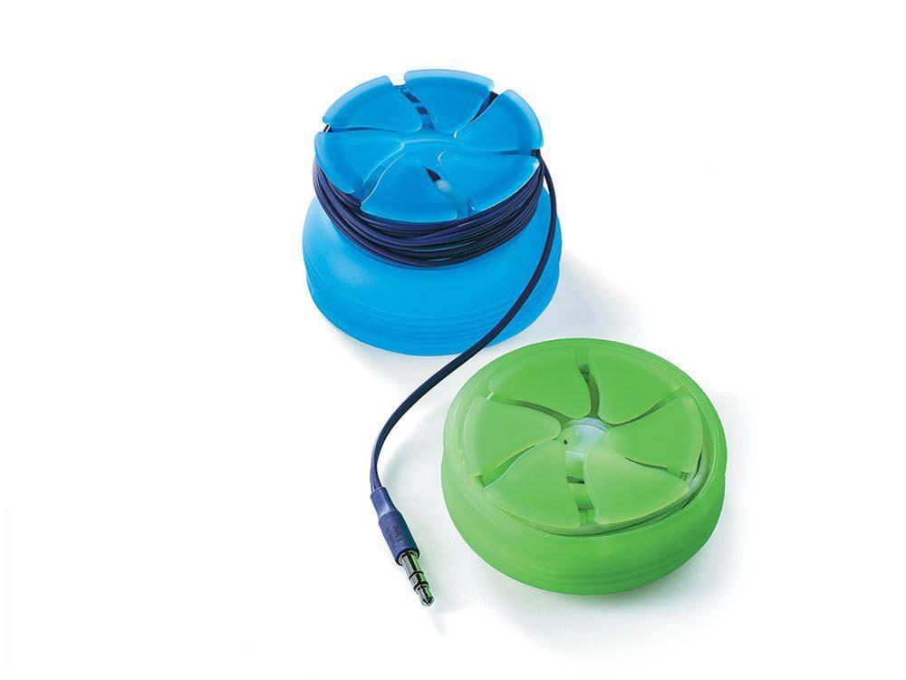 Cadeau de noël : un boitier de rangement pour écouteurs
