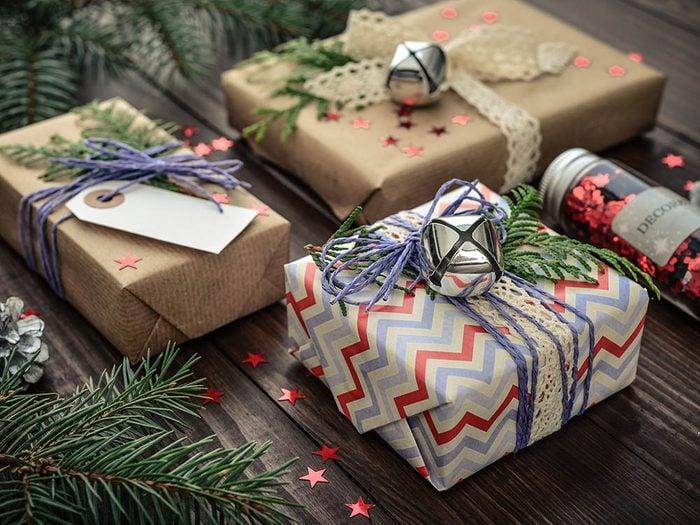 Retrouvez des idées de cadeaux de Noël.