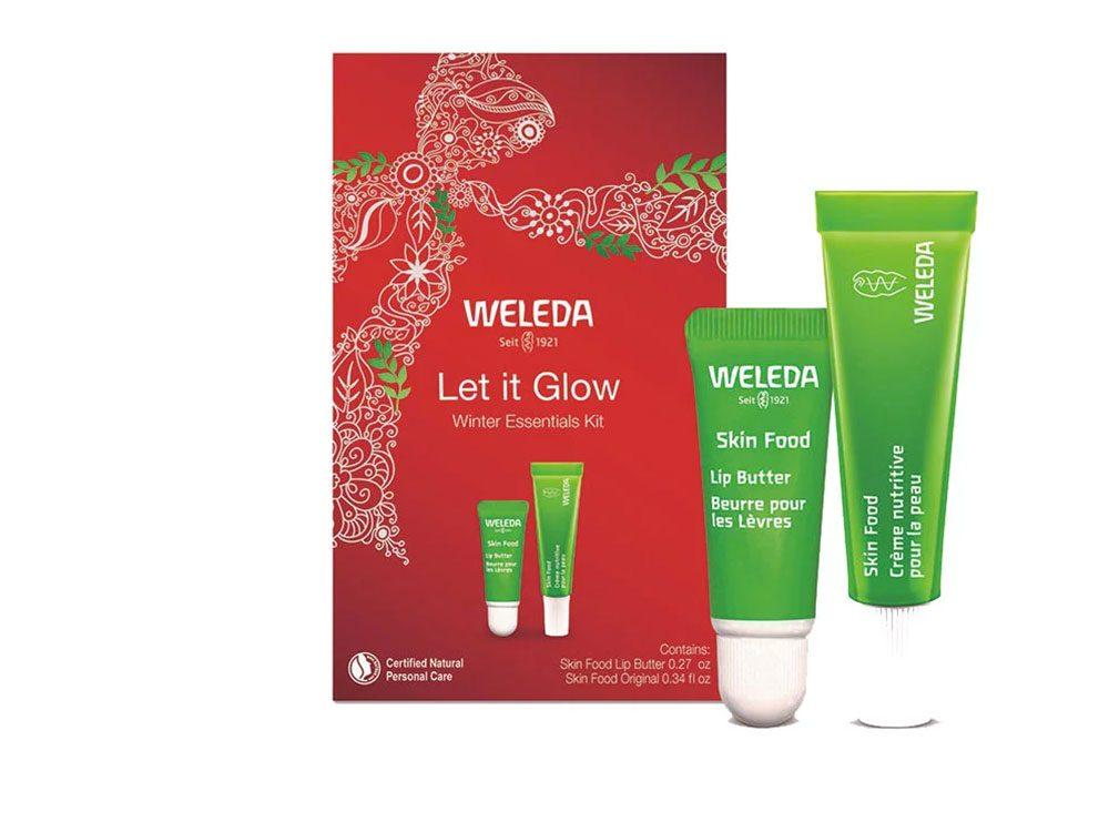 Idée cadeau: le Winter Essentials kit pour peau sèche.