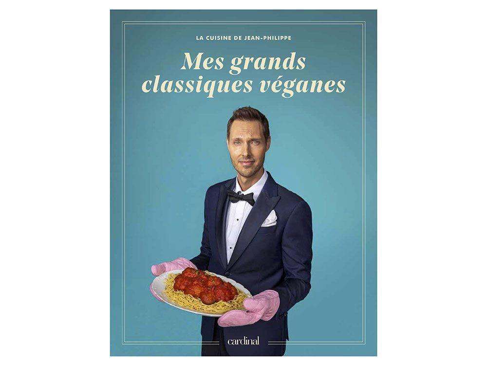 """Idée cadeau: le livre """"la cuisine de Jean-Philippe: ses 100 meilleures recettes véganes."""""""