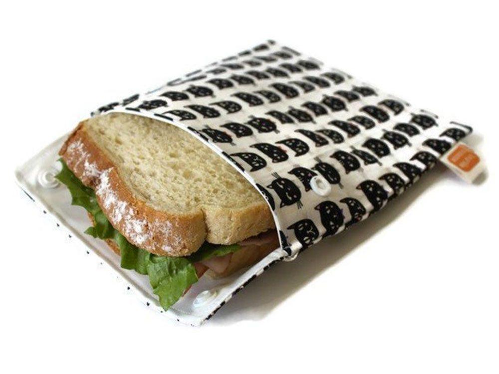 Idée cadeau: un sac à collation réutilisable.
