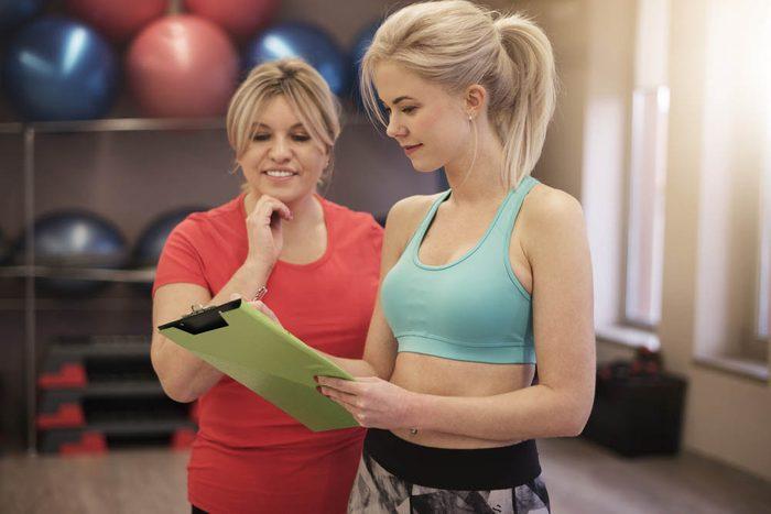Le coach santé vous demandera un compte rendu de votre alimentation.
