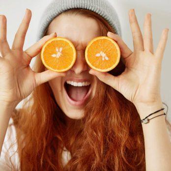 Les oranges contre la dégénérescence maculaire