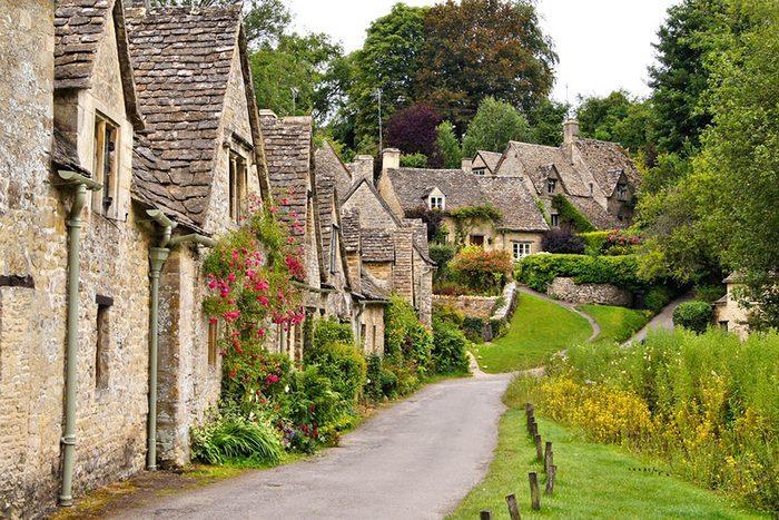 Destination de voyage : Bibury en Angleterre.