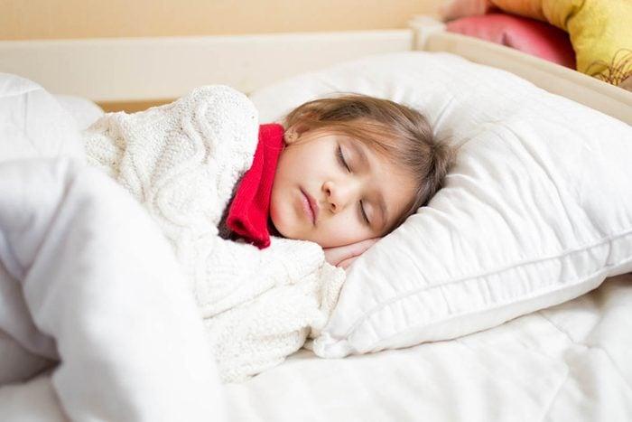 Hiver froid : dormir au frais.