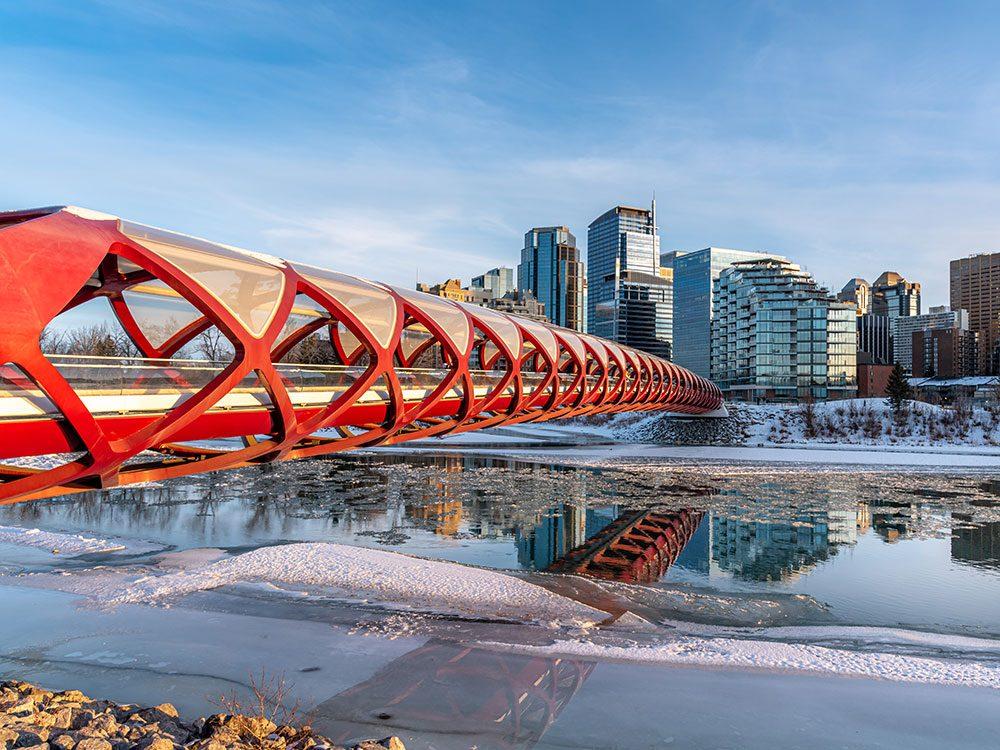 Calgary est l'un des endroits les plus froids au Canada.