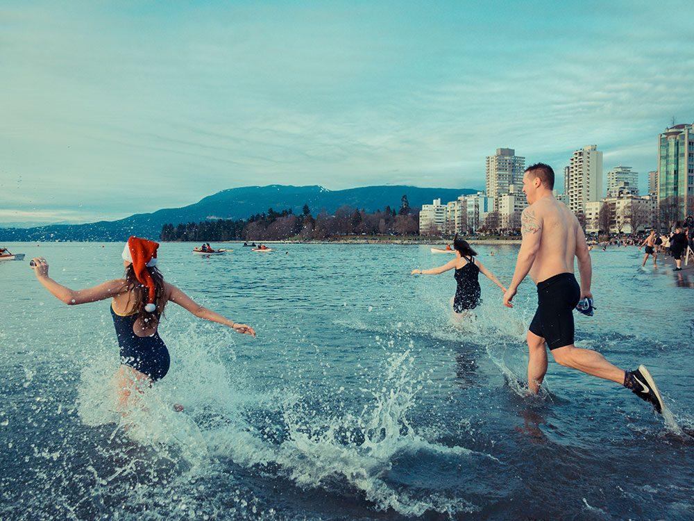 Vancouver est l'un des endroits les plus froids au Canada.