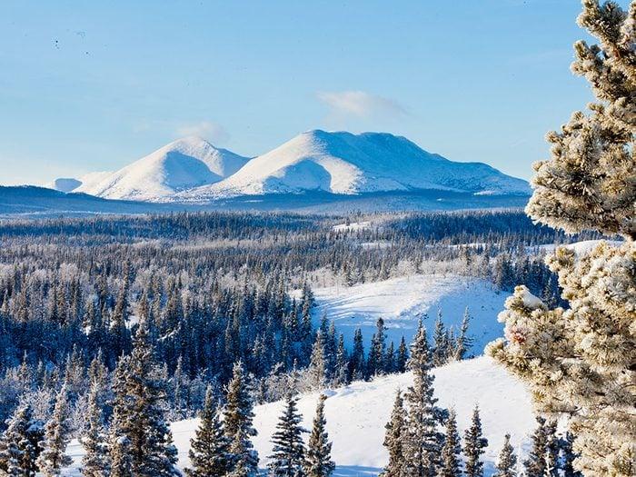 Snag, au Yukon, est l'un des endroits les plus froids au Canada.