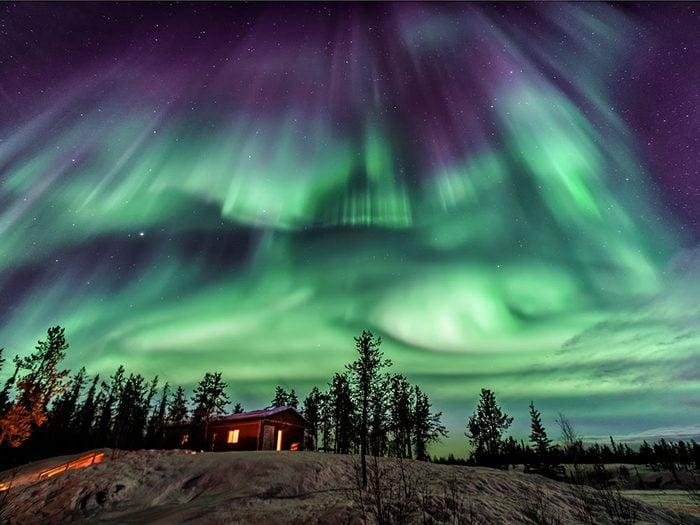 Yellowknife est l'un des endroits les plus froids au Canada.