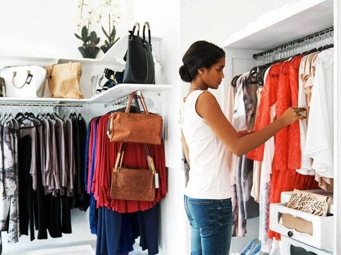 Tri: faites le ménage dans vos vêtements.