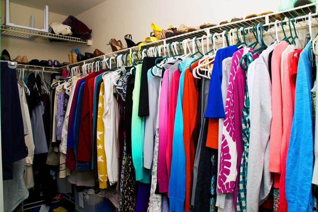 Faites le ménage dans vos vêtements.