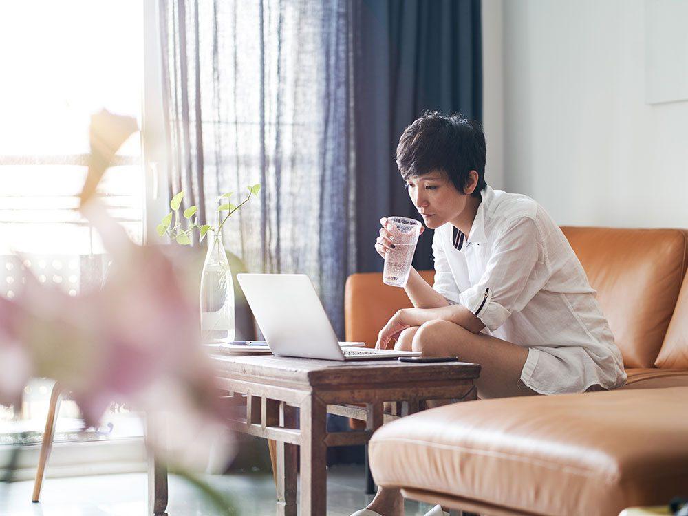 Mythe sur la santé: il faut boire huit verres d'eau par jour.