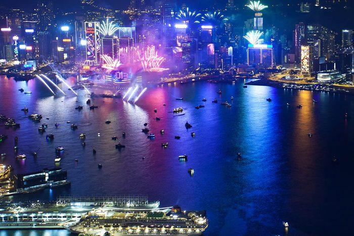 Nouvel an à Hong Kong