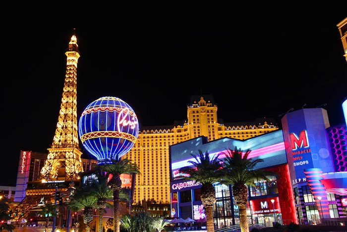 Nouvel an à Las Vegas