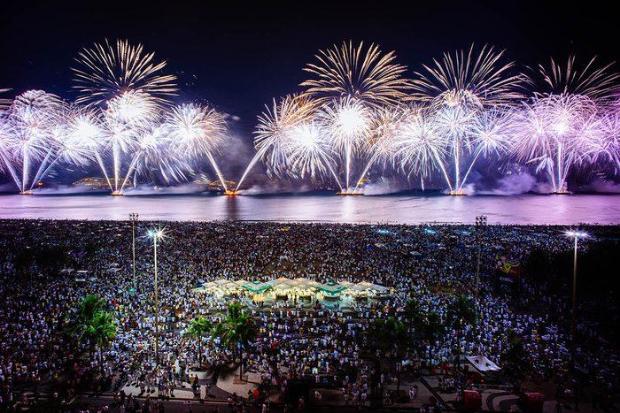 Nouvel an à Rio de Janeiro
