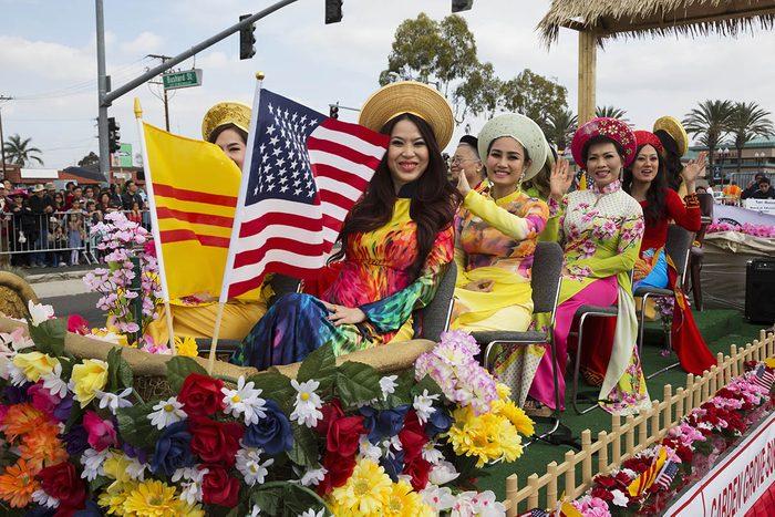 Nouvel an vietnamien en Californie