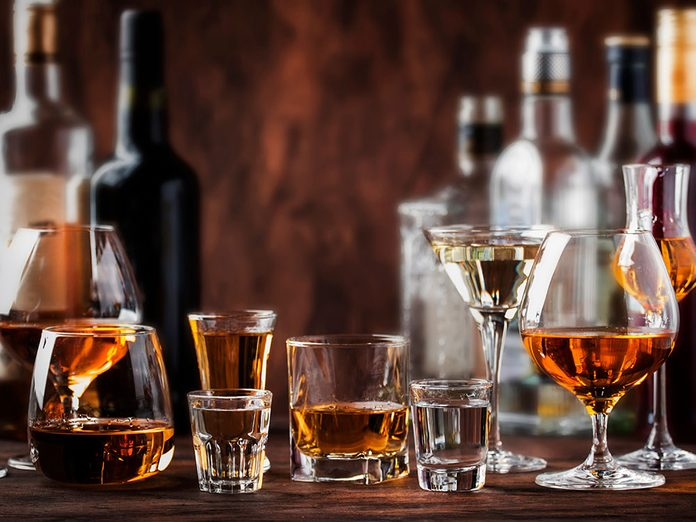 L'alcool peut vous faire paraître plus vieux.