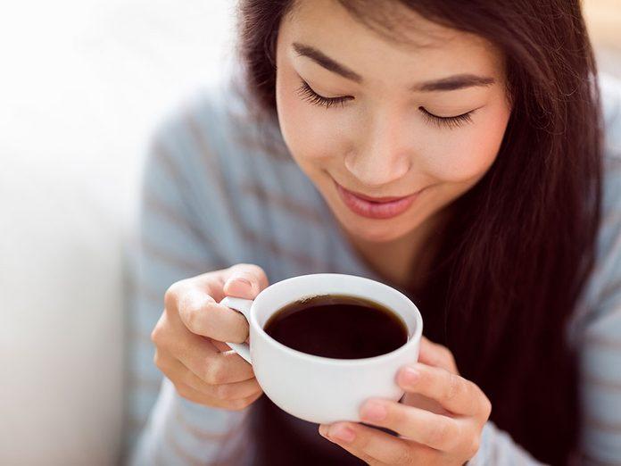 Le café peut vous faire paraître plus vieux.