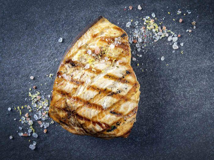 L'Espadon fait partie des poissons que vous devriez éviter de manger.