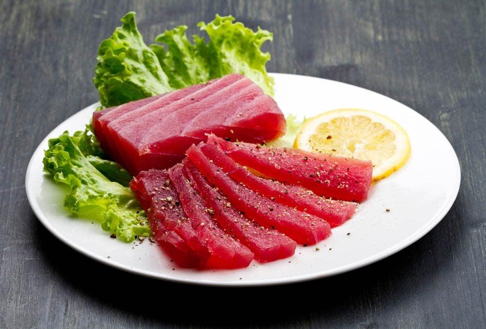 Poissons à éviter : le thon rouge.