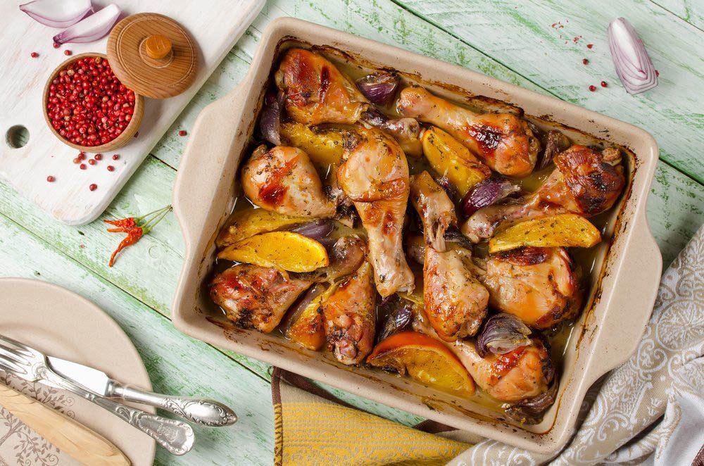 Pour le repas de Noël, préparez une casserole de poulet à l'orge.