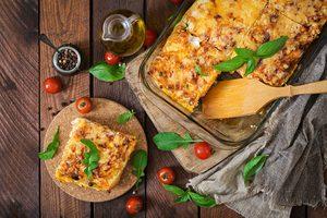 Lasagne aux légumes grillés