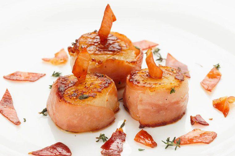 Pour le repas de Noël, préparez des pétoncles au prosciutto.