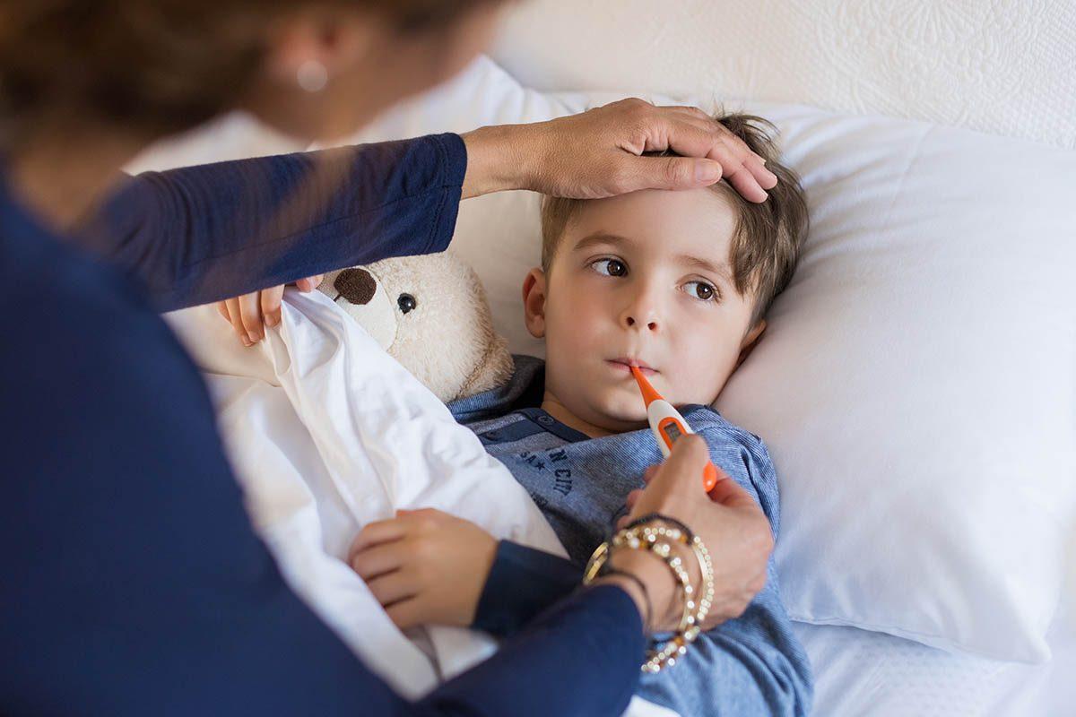 Le rhume est plus fréquent chez les enfants.