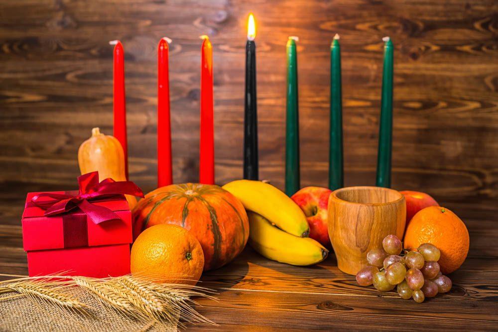 Temps des Fêtes : Kwanzaa est célébrée en plus de Noël.